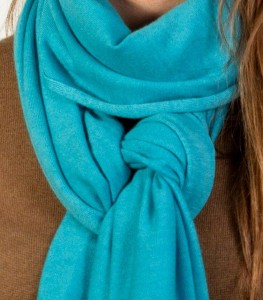 Knitted-Stole-60-2-Blue-Detalle